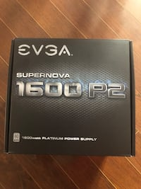 EVGA 1600 P2 Power Supply Oshawa, L1K 3A1