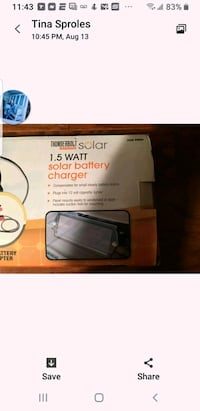 SOLAR POWERED BATTERY CHARGER FOR CELL PHONES  Virginia Beach