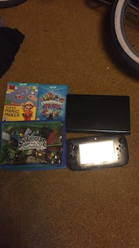 Wii u comes with games that are shown payed $400 for it would like to get at least $100 comes with all cables to