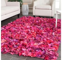 Safavieh hand made Rio shag Fuschia rug 6' x 9' Katy, 77494