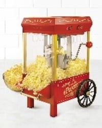 Nostalgia Electrics Movie Time Vintage Popcorn Machine tabletop