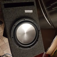 Eclipse 12 sub and ported box Cambridge, N1R 5S6