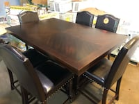 Counter Height dining table and chairs set new Pineville, 28134