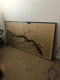 72 x 36 original wall unit bought in Japan years ago! Sterling, 20164