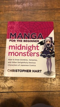 Manga for the Beginner: Midnight Monsters Book Rockville, 20850