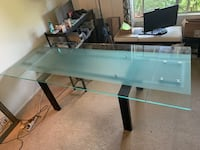 Glass Table - Dining Table