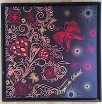 pink, red, and black butterfly printed wall decor North Miami, 33168