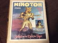 Minoton  model from sinbad and the eye of the tiger Guelph, N1H