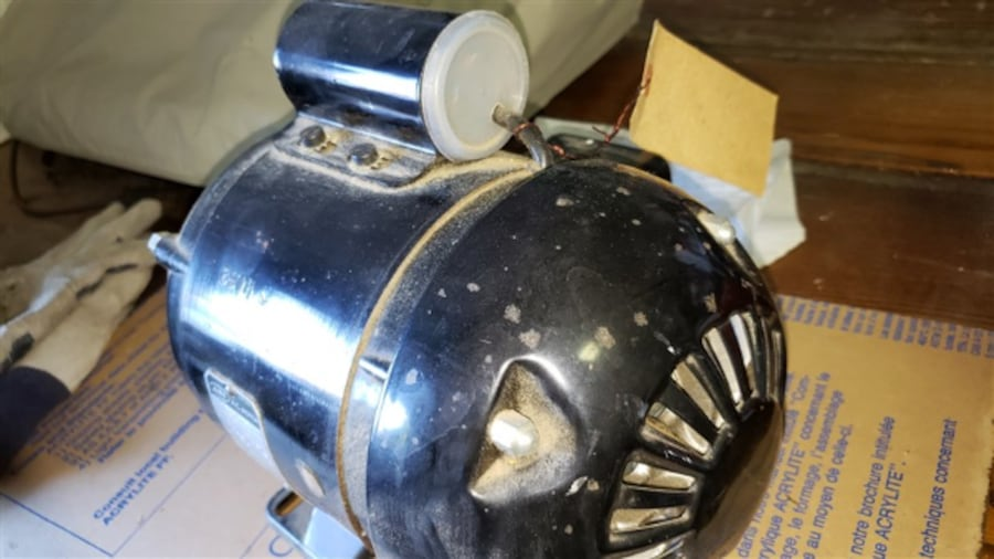 Electric motor 3/4 HP Never used 5