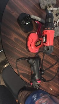 red and black Troy-Bilt pressure washer Regina, S4P