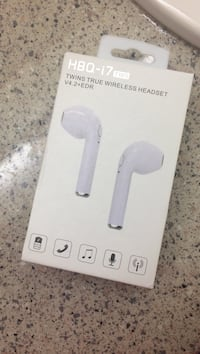 white HBQ-17 wireless headset box Concord, 94520