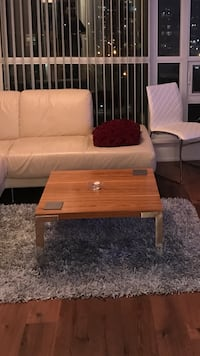 Brown modern coffee table