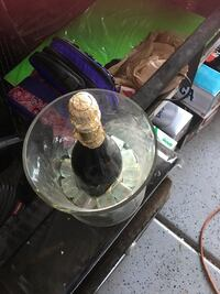 Fake champagne in glass bucket  Las Vegas, 89147