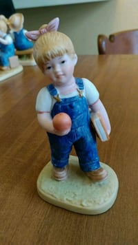 boy in blue dress ceramic figurine Logansport, 46947