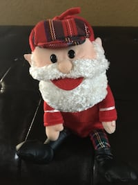 Santa from Rudolph the red nose reindeer - dances, sings  Waukesha town, 53189