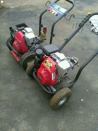 red and black push mower Surrey, V3W 3H3