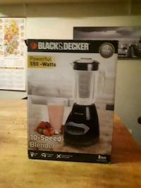 black and gray Keurig blender  box Burnaby, V3N 1A8