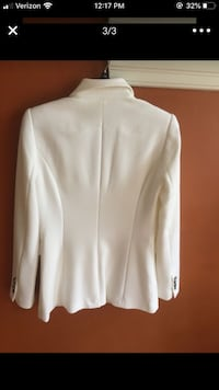 Beautiful Brand New White Creme White House Black Market Blazer Naperville, 60540