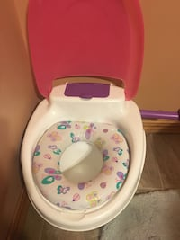 Toddler's white and multicolored potty trainer Winnipeg, R3Y 1J3