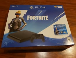 PS4 Fortnite Bundle BRAND NEW UNOPENED won at Event
