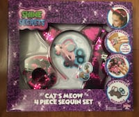 Brand new Shine Secrets Cats Meow 4 Pieces Sequin Set (pick up only) Alexandria, 22310