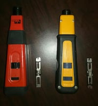2 FLUKE PUNCH DOWN TOOLS+EVERSHARP CUT BLADES 46 km