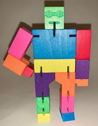 Colorful Cubebot