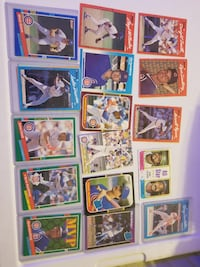 assorted baseball trading card lot Edwards, 61528