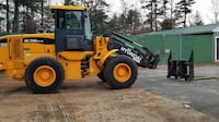 New TMG 215 Heavy Duty Tractor Backhoe Attachment