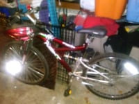 red and black full suspension mountain bike Germantown, 20876