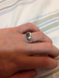 Blue Diamond Ring (20 Diamonds)  Richmond Hill, L4C 6Y8