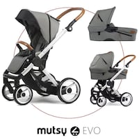 Mutsy Evo Urban duovagn light grey Värmdö, 134 38