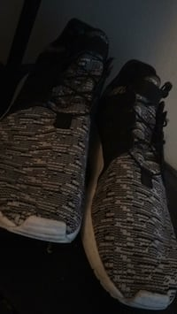 pair of black-and-gray Nike basketball shoes North Vancouver, V7H 1V2