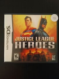 Justice League Heroes for Nintendo DS Vaughan, L4L