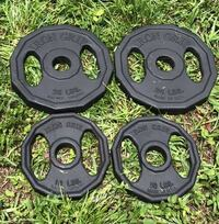 25lb.. & 10lb. OLYMPIC EASY GRIP PLATES  Deerfield Beach, 33442