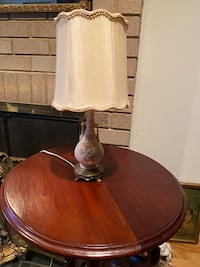 2 Antique lamps . (2) $9 for both Reston, 20191
