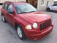 2007 JEEP COMPASS SAFETIED AND ETESTED