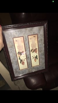 Vintage picture with brown wood frame  North Babylon, 11703