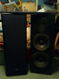 black and gray speaker system Fair Lawn, 07410