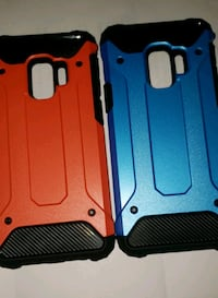 two red and blue Samsung s9 case Knoxville, 37918