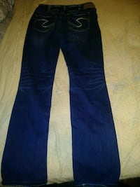 Silver womans jeans size 30x32  Wichita