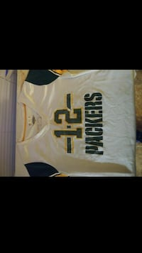 #12 packers female Jersey Greenwood, 46143