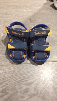 Toddlers size 4 timberland sandals  St. Clements, R1C 0C7