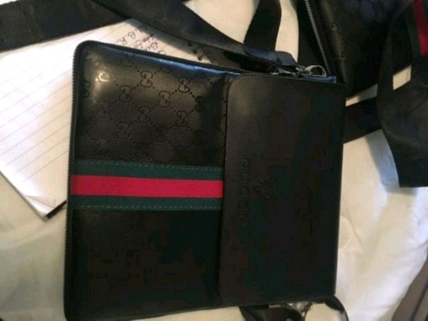 ee65773afae6 Used black and red leather wallet for sale in Boynton Beach - letgo