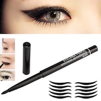 Svart mac Waterproof eyeliner penna