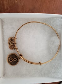 """Alex and Ani Letter """"S"""" Bracelet Coventry"""