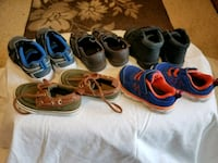 Lot of toddler boys shoes size 5 (one size 4) Poway, 92064