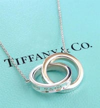 AUTHENTIC BRAND NEW TIFFANY INTERLOCKING CHAIN NECKLACE Burnaby