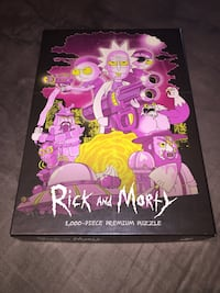 Rick and Morty 1,000 piece puzzle. Very difficult. Lexington, 40509