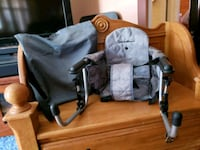 baby's black and gray stroller Essex, 21221